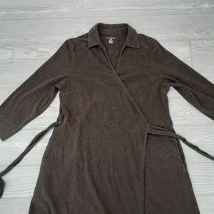 Lands end womens wrap dress size pm